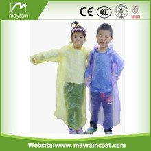 New Design And High Quality PE Raincoat