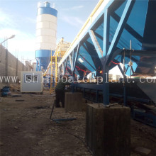 Factory supplied for 25 Concrete Batch Plant 25  Concrete Ready Batching Plant supply to Sierra Leone Factory