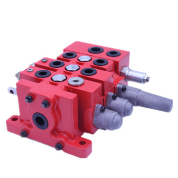Patch planer hydraulic sectional valve