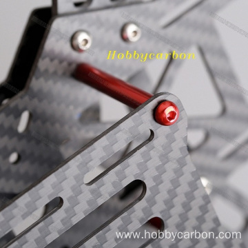I-Carbon Fibre Cnc Cutting Perforated Sheet