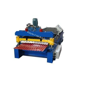 Steel Corrugated Sheet Roll Forming Machine