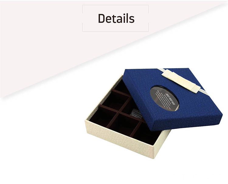 Custom Gift Box Luxury Cardboard Packaging Chocolate Box