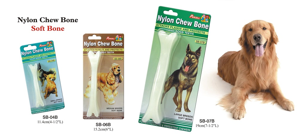 Soft Nylon Chew Bone Toy