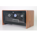 Triple rotors watch winder wooden watch winder for three watches