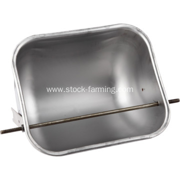 stainless steel pig manger for sow feeding