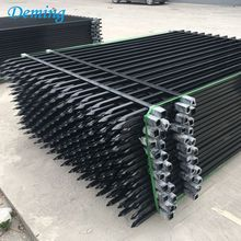 Decorative Wholesale Portable Security Zinc Steel Fence