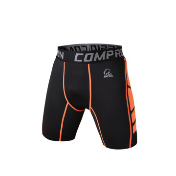 Custom design fitness elastic lightweight training shorts