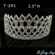 Wholesale Cheap Rhinestone Pageant Crowns Queen Tiara