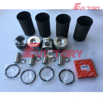 excavator N04CT engine gasket bearing piston ring liner