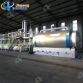 Electricity Heating Waste Tyre Tire Pyrolysis Plant with ZERO pollution deduster