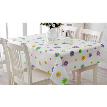 Modern Printed PEVA Table Cloth
