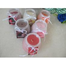 Long Burning Time Scented Glass Candles Gift  Set