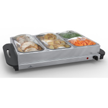 China for Heated Buffet Server Stainless Steel 300W Buffet Warmer export to Argentina Exporter