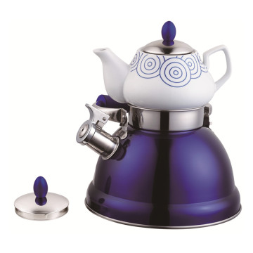 Household Samovar Tea Pot-Purple Serious