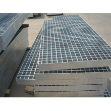 Special for Drainage Canal Galvanized Steel Grating Zinc Coated Steel Grid supply to Vanuatu Factory