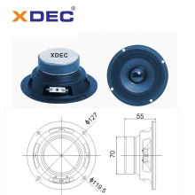 High Quality Industrial Factory for China Portable Mini Speaker,Bluetooth Mini Speaker,Waterproof Mini Speaker Manufacturer and Supplier 5 inch 128mm 6ohm 5wrms midbass bookshelf speaker export to Greenland Manufacturer