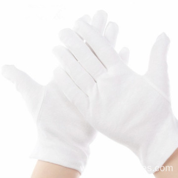 High Quality Cheap Durable White Cotton Gloves