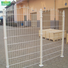 Welded Decorative Polyester Coated Prestige Mesh Fence