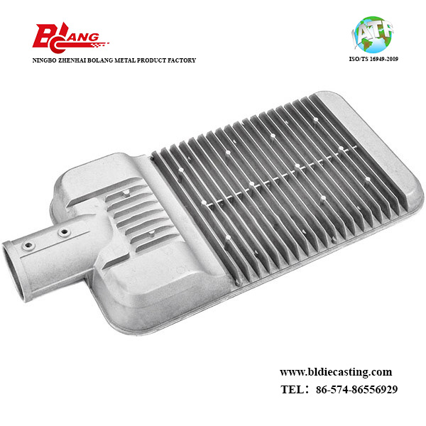 Custom ADC12/A380/A360 Die Casting Heat Sink with Aluminium