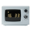 Digital Small TV Clock with Light