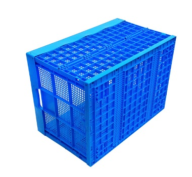 Plastic crate part