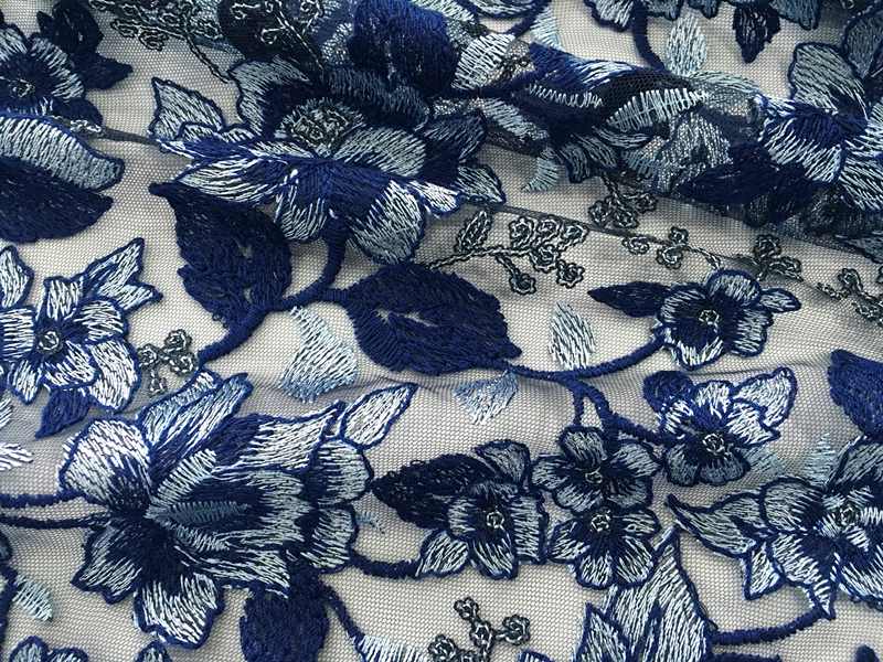 Mesh Embroidery Fabric For Garment
