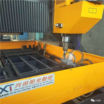 CNC Gantry Movable Plates Drill Machine