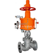Best Quality for Cast Steel Globe Valve Pneumatic Actuated DIN Globe Valve supply to Malaysia Suppliers