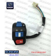 Supply for Baotian Handlebar Switch BAOTIAN BT125T-2B4(4D)L. Handle Switch Assy (P/N:ST06030-0007) Top Quality export to Japan Supplier