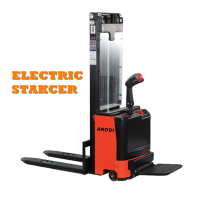 Electric Stacker Forklift Truck