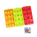 silicone multi Fruit shape Ice Cube Tray Mold