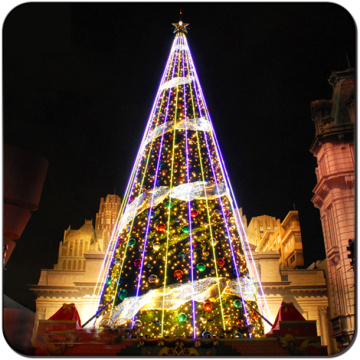 Wholesale Lighted Giant LED Artificial  Christmas Tree