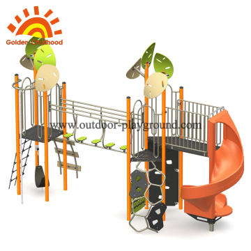 Nature Orange Nature Outdoor Playground Equipment