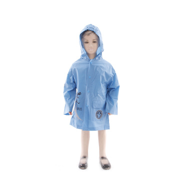 OEM kids raincoat children rain poncho