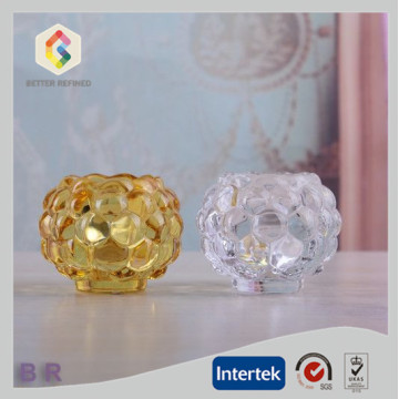 China for Glass Candle Holder Decorative Bubbles Small Tea Light Candle Holder export to United States Manufacturer