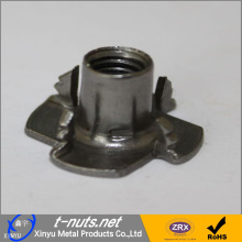 Good Quality for China Locking Nuts,Carbon Steel Locking Nuts,Fastening Lock Nuts,Locking Nuts For Car Wheels Manufacturer and Supplier Stamped Carbon Steel Locking T Nuts supply to Fiji Manufacturer