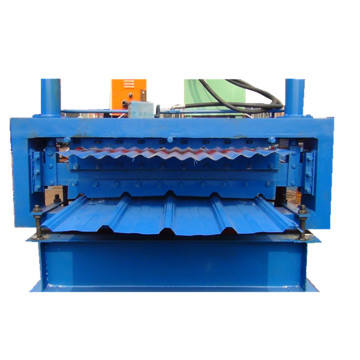 Double layers ibr and corrugated roll forming machine