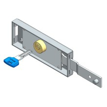 Online Manufacturer for for Roller Shutter European Door Lock Right roller shutter lock computer key shifted bolt supply to Italy Wholesale