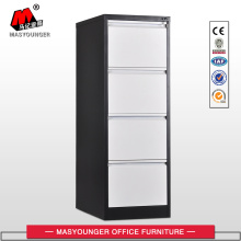 Hot sale reasonable price for Vertical Filing Cabinet Black White 4 Drawer Vertical File Cabinet supply to Palestine Suppliers