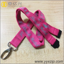 Premium Double Jacquard Lanyards With Logo Embroidered