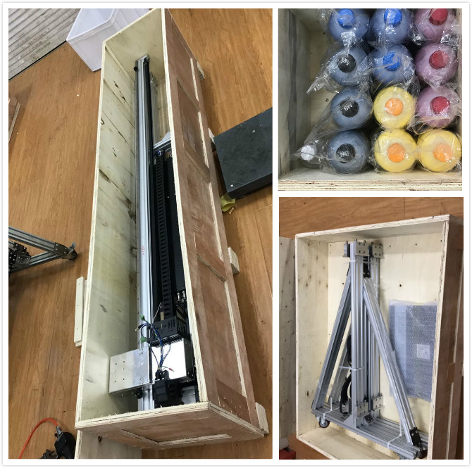 packing of wall printer