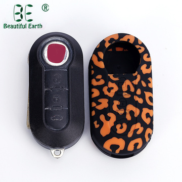Fiat Silikon Car Key Cover Case Skinhållare