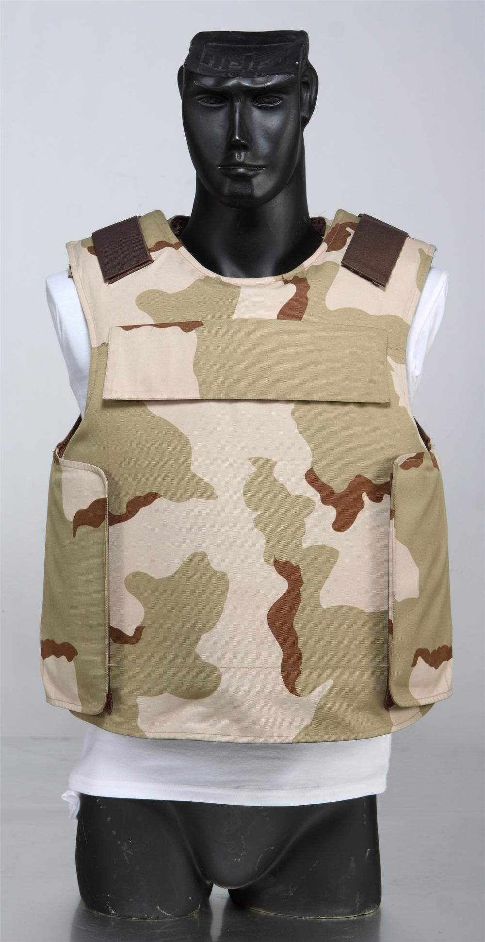 Against 7.62mm Body Armor