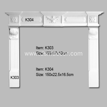 Polyurethane Decorative Mantel Pieces