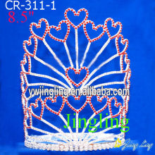 Rhinestone Cheap Heart Pageant Crowns