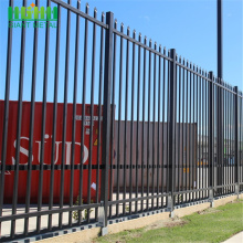 PVC Coated Wrought Iron Zinc Steel Picket Fence