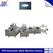 China New Product for China Fishing Type Mask Making Machine,Boat Shape Mask Making Machine Supplier KYD Disposable Boat Type Mask Making Machine supply to Russian Federation Importers