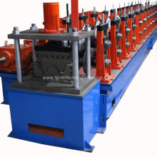 Heavy duty two wave highway guardrail machine