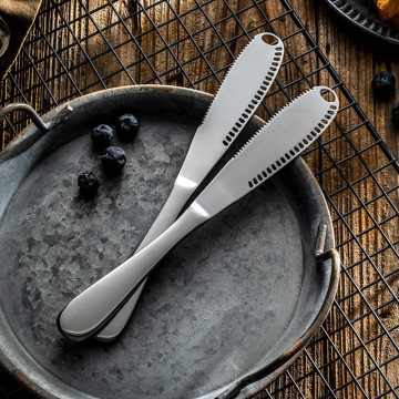 High Quality Tableware Dinner Stainless Steel Butter Knife