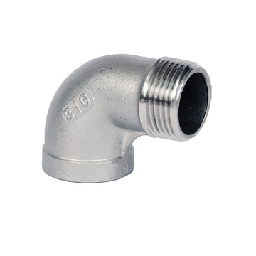 Male & Female 90 Degree Stainless Steel Elbow